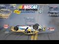 2015 Nascar Daytona Speedweeks crashes (no music)