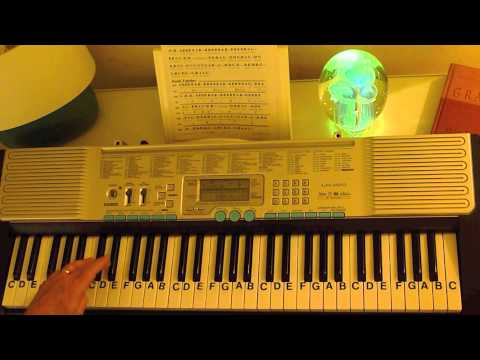 How to Play ~ Blueberry Hill ~ Fats Domino ~ LetterNotePlayer ©