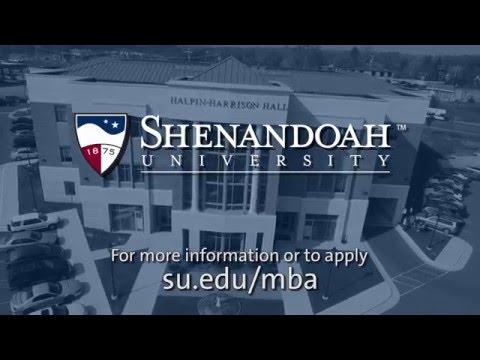 A Shenandoah MBA: Designed for You