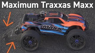 Custom Wheelie Bar for Traxxas Maxx 6S - will it help?