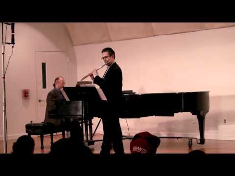 Piazzolla - Milonga del Angel - Flute & Piano - Marco Granados, Flute; Pablo Zinger, Piano