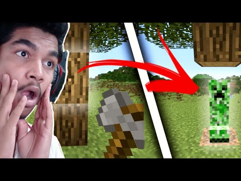 MINECRAFT, BUT MINING BLOCKS SPAWN MOBS | FoxIn Gaming