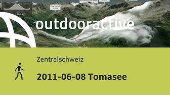 Wanderung in der Zentralschweiz: 2011-06-08 Tomasee