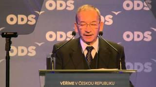 Jaroslav Kubera: vystoupení v rámci politické diskuse