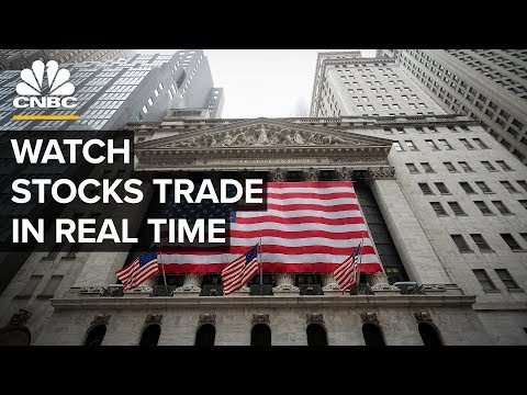 Watch Stocks Trade In Real Time Amid Market Volatility– 4/1/2020