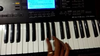 Lila Pila Tara Neja Farke l Milan Kakdiya l Piano Harmonium tutorial