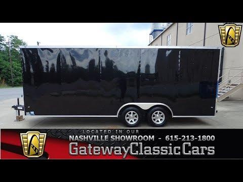 2017 Nexhaul 20Ft Enclosed Trailer, Gateway Classic Cars-Nashville#814