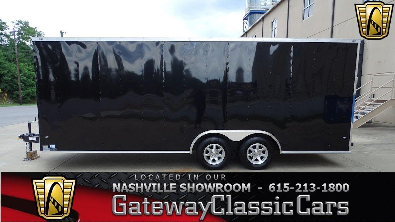 2017 Nexhaul 20ft Enclosed Trailer Gateway Classic Cars Nashville 814