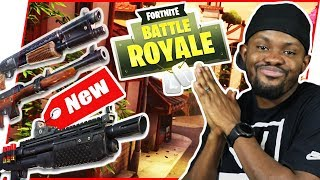FIRST TIME GETTING MY HANDS ON THE NEW SHOTTY! - FortNite Battle Royale Ep.107