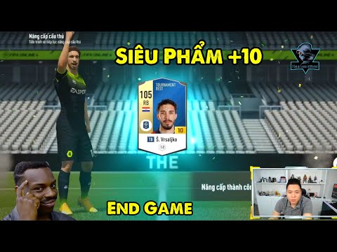 FIFA Online 4 | Šime Vrsaljko +10??? Đại Gia Farmer Tony Tiếp Tục Chinh Phục +10 Thứ N Của Sever!