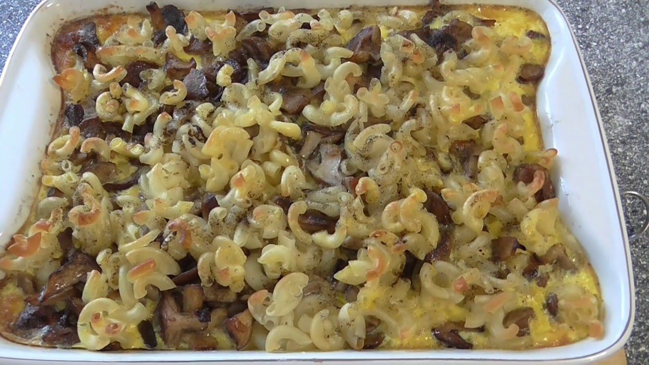 Как приготовить макароны в духовке
