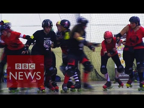 Cairollers: Roller derby Cairo style