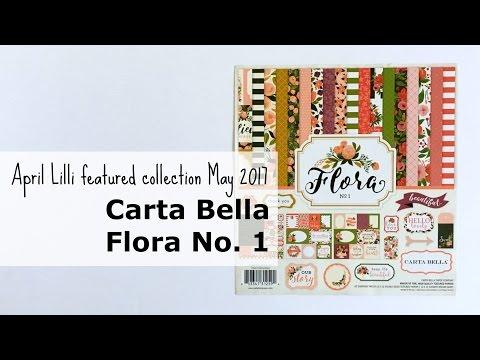 Carta Bella: Flora No. 1