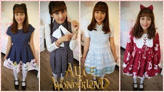 Alice in Wonderland Fashion Lookbook