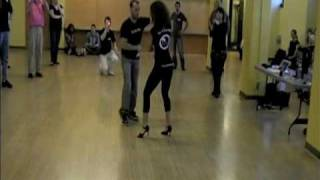 Ataca Jorgie and La Alemana, Left Foot Boogie Bachata Booty Camp, Seattle 3/6/10