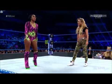 Naomi Vs Carmella: SmackDown LIVE, May 16 2017