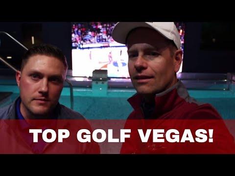 At Top Golf Las Vegas with Lead Instructor Brandon Johnson