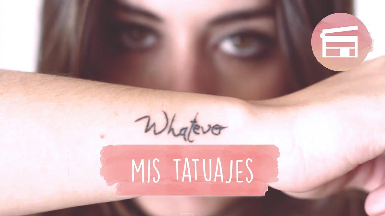 Tatuajes Impares mis tatuajes - dulceida - youtube