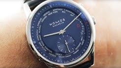 Nomos Zurich Weltzeit Nachtblau (807) NOMOS Glashutte Luxury Watch Review