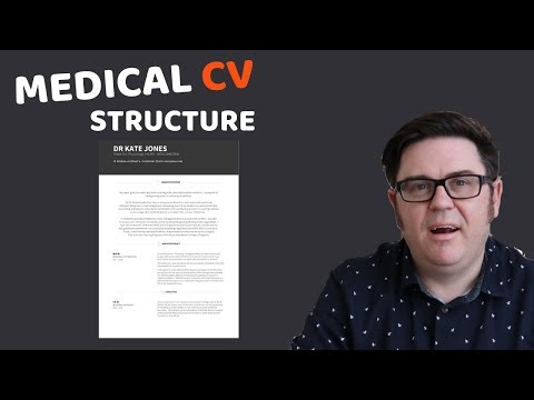 Medical CV Example: How To Structure Your CV Or Resume