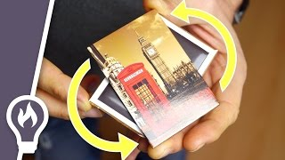 Fridge magnet trick