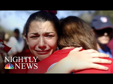 National Student Walkouts Call For Gun-Law Reform | NBC Nightly News