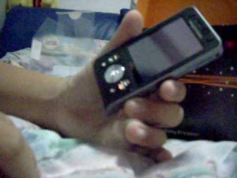 Unboxing Sony Ericsson W910i