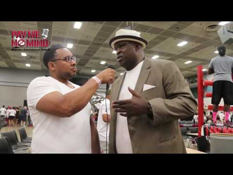 "James ""Buster"" Douglas after Pearson Promotions' The Awakening 6/18/16"