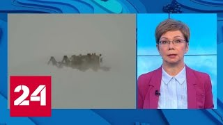 """""""Погода 24"""": на Алтае без снегоходов не обойдешься - Россия 24"""