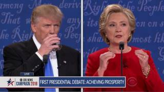Full video: TrumpClinton first presidential debate