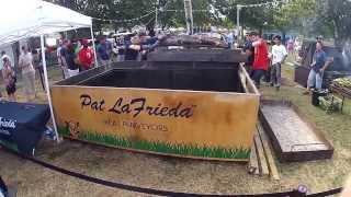 Meatopia 2012 - Pat LaFrieda 1000lb Steer Uncovering