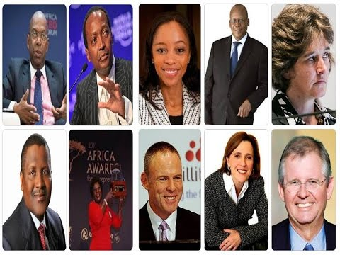 Top 10 Richest CEOs of Africa