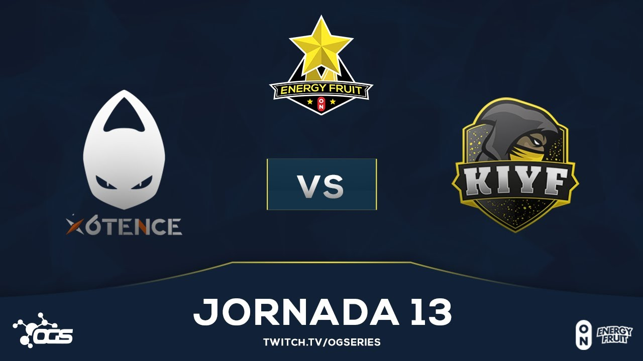 [J13] Energy Fruit - X6tence vs KIYF Esports