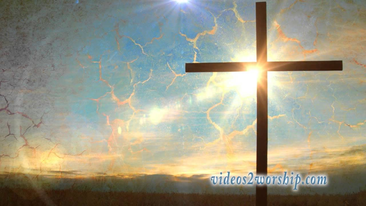 easter cross worship motion background youtube