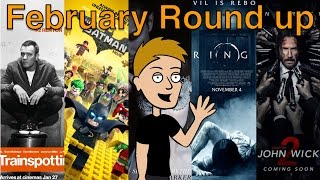 February Round up - T2, Lego Batman Movie, Fifty Shades Darker, Rings, John Wick 2 - Lewys' List 3