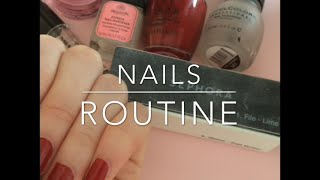❀ Nail care routine ❀