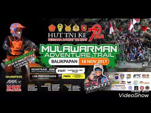 Mulawarman Adventure Trail memperingati HUT TNI yang ke 72