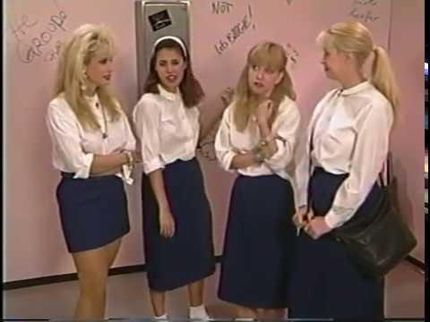 Rhonda Shear Usa Up All Night 94 35 Catholic Girls Skirts Linnea Quigley Monique Gabrielle