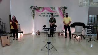 Sl 127.1-2 - Deus trabalha l Pr. Nilson Melo l Família l 09/05/2021
