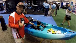 Old Town Predator PDL and Ocean Kayak's Malibu PDL at ICAST 2017