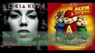 No One Alicia Keys Feat The Chipettes Mashup Remix.mp3