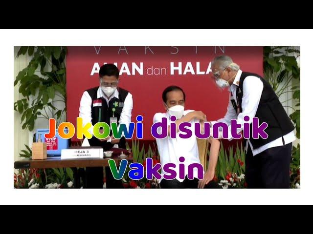 Presiden Jokowi Relawan Pertama Vaksin Covid 19