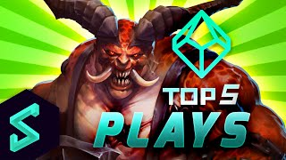 Top 5 Plays in Heroes of the Storm | Ep. 20 w/ Khaldor | HotS Gameplay | TGN Squadron