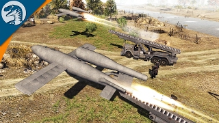 V1 GUIDED ROCKET BARRAGE | LRBM MOD | Men of War: Assault Squad 2 Gameplay