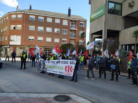 A Rúa clama contra el traslado del centro de Iberdrola