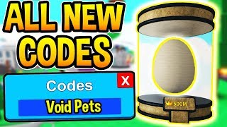 ALL NEW SABER SIMULATOR CODES - New Void Pets Update | Roblox