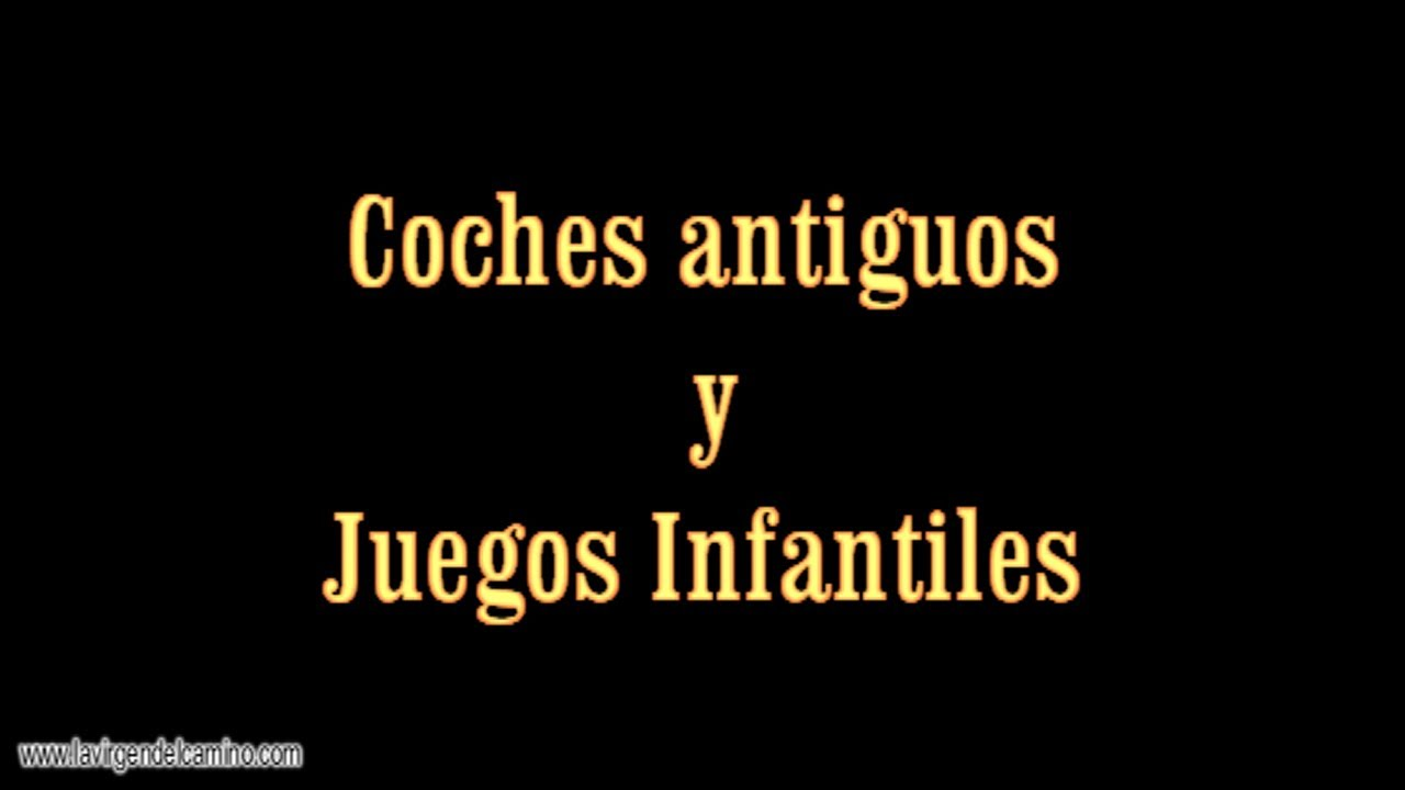 Exibicion De Coches Antiguos Y Juegos Infantiles Youtube