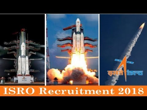 Indian Space Research Organization (ISRO) Recruitment 2018 - November Jobs -