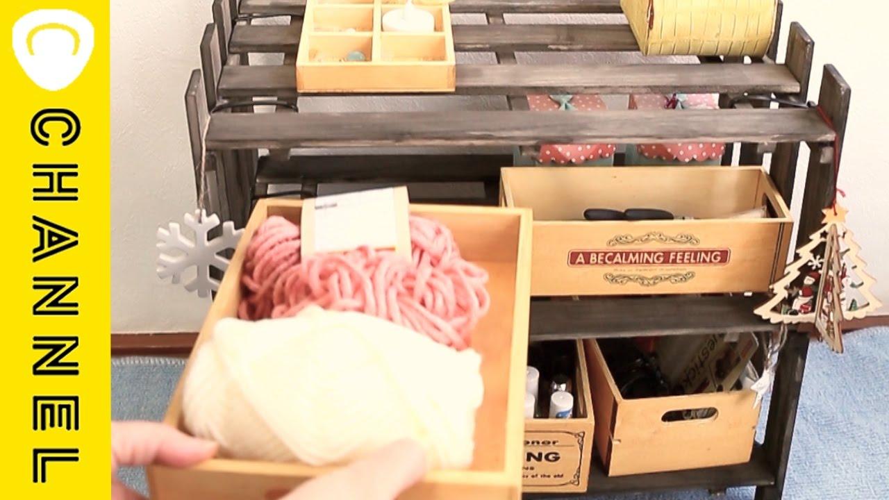 【DIY】すのこ&ウッドラック|C CHANNEL DIY - YouTube