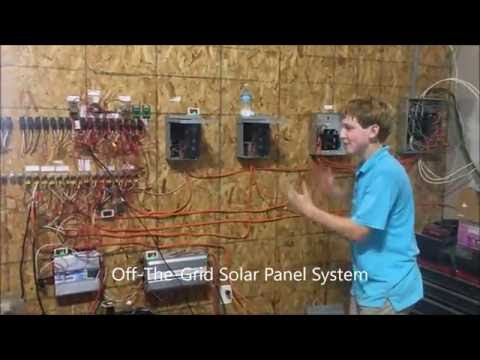Grid Tie/Off The Grid Solar Panel System